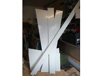 White Ebberns Aqua Board off-cuts