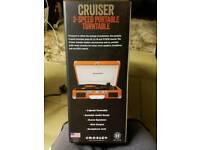 Crosley Cruiser Three Speed Portable Vinyl Turntable - Orange