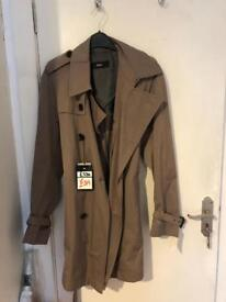 Hugo boss raincoat