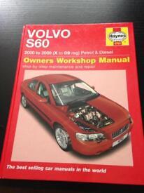 Volvo Haynes manual £8