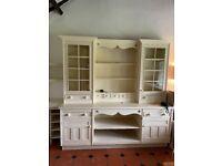 Painted wooden Smallbone kitchen