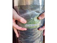 Pro-Tec 2m x 50m Heavy Duty 100g Weed Control Membrane + 50 Pegs. New.