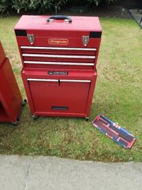 Snap on style tool chest x2 available will sell separate or as pair