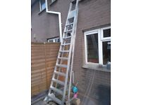 YOUNGMAN industrial step ladder whit platform.