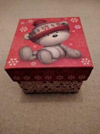 Christmas Gift Box with Lid