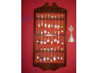 Vintage Souvenir and Tea Caddy Spoons