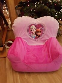 Frozen Inflatable Chair with cover