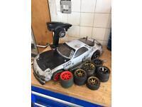 Maverick mrx243 rc 4wd drift car w/ spares