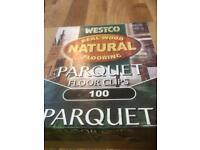 Parquet flooring clips