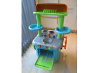 Toy kitchen play set and many extras