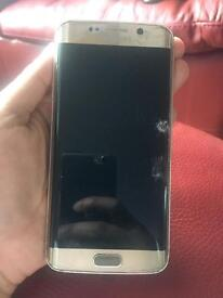 Samsung galaxy s6 edge gold Vodaphone