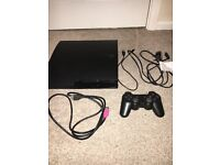 PS3 SLIM 300GB - VERY GOOD CONDITION BUT NOT BOXED + GTA V & MW2