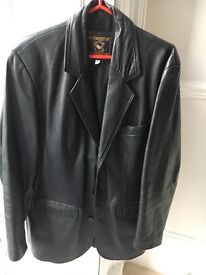 FINAL REDUCTION: Think Xmas: Gents Leather Jacket