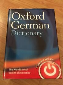 Oxford German Dictionary Hardcover