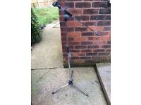 Steel microphone stand for sale