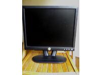 Dell E172FPt LCD PC screen monitor 17 inch