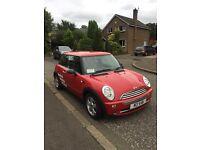 Mini one 3 door hatchback - 2006 red