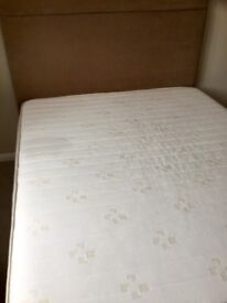 5' king size bed, mattress, headboard. Used in guest room. IMMACULATE.