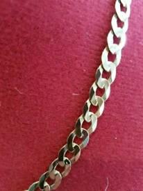 2 x curb chains 21 inch 30+ grams