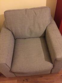 Furniture village grey dune chair