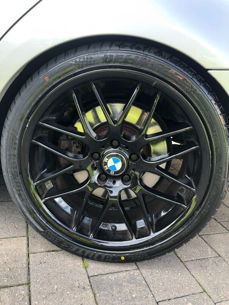 Bmw Csl Style Wheels 19 Gloss Black In Baguley Manchester Gumtree