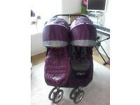 Double City Mini Jogger purple