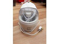 Kenwood Ice Cream Maker Kenwood IM200 1.1 Litre good hardly used condition