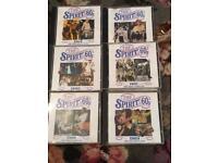 Spirit of the 60's 13 CD's