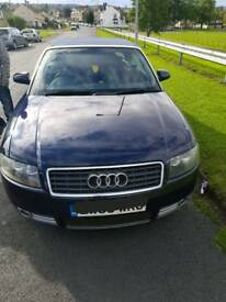 CONVERTIBLE AUDI A4 TURBO