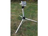 Motorhome Or Caravan Satellite Dish & Tripod - Stand - As New Condition