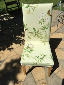 2 new sure ch dining chair covers