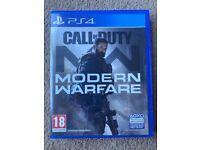 Call of Duty - Modern warfare PS4