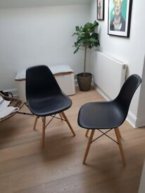 2 back dining chairs