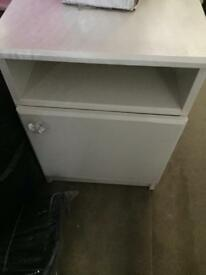 Bedside table 35c L 17cmW