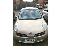 Nissan micra automatic rare 5 door petrol car low mileage quick sale