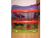 large 3 tier hamster cage.