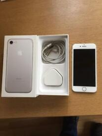 iPhone 7 silver 32gb EE orange virgin