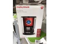 Morphy Richards digital filter Coffee maker