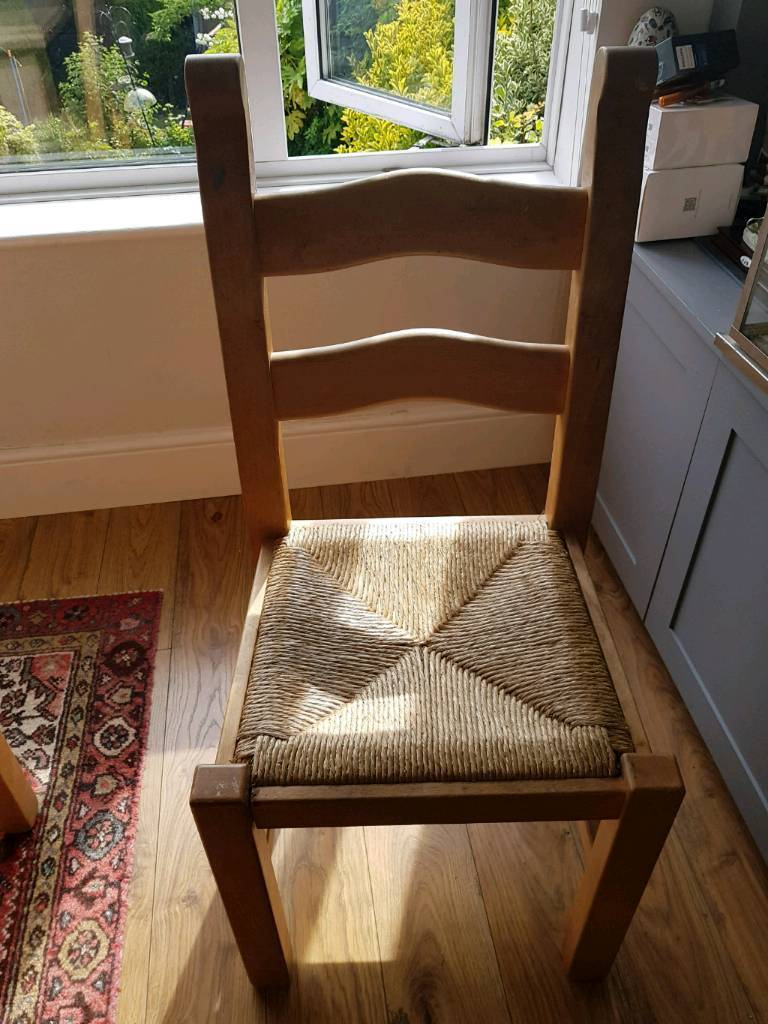 3 solid pine chairsin Brighton, East Sussex - 3 solid pine chairs. Need to go this weekend Collection only from westdene nr patcham