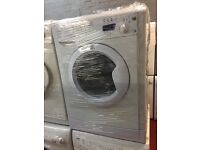 nice White indesit washing machine 6kg 1600 spin in excellent condition in full working order