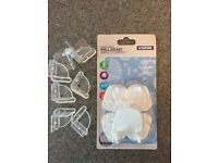 Baby safety plug covers and furniture covers
