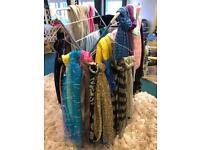 Bundle of ladies scarves