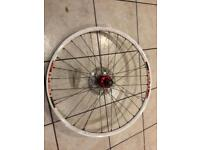 Dt swiss x430 rear mountain bike rim / 26 inch wheel with 160mm rotor