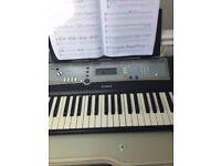 Yamaha Keyboard WITH stand (Model - PSR-E203)