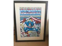 Large Captain America Picture
