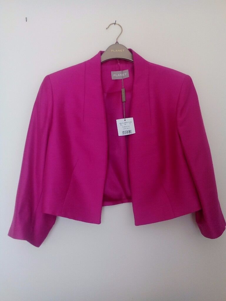Ladies Fuschia Pink Jacket. By Planet. Size 10 | in Leigh-on-Sea ...