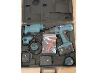 Cordless drill powermaster quintool set