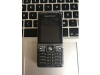 RARE RETRO Sony Ericsson C702 Unlocked Flip Mobile Phone Handset + Charger + Sim Card