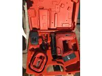 Cordless Finish Nailer 18v in very good condition