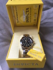 Mens Chronometer Divers Watch Invicta - New & Unworn